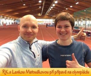 Radek Karban a Lenka Matoušková