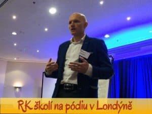 Radek Karban v Londýně, trenér rozvíjení skrytého potenciálu