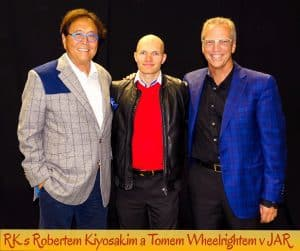 Radek Karban a Robert Kiyosaky